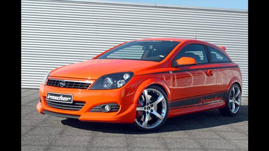 Opel Astra GTC: Irmscher tunt den Rüsselsheimer Dreitürer