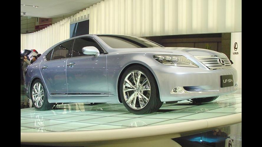 Lexus zeigt Zukunft: Kommt der neue LS mit Hybrid?