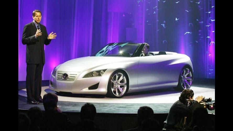 Lexus LF-C: Die vielen Dächer einer neuen Open-Air-Studie