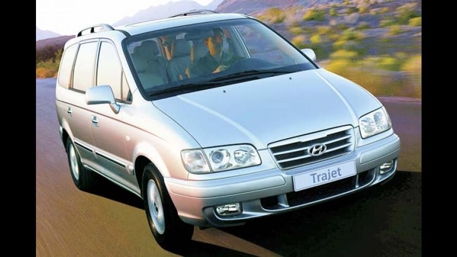Hyundai auf der AMI: Der Trajet zeigt sein neues Gesicht