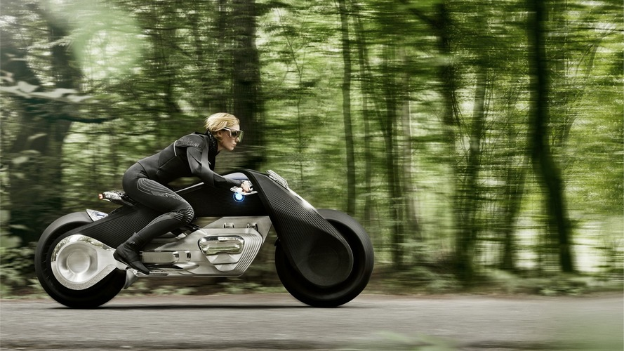 BMW Motorrad reveals Vision Next 100 motorcycle concept