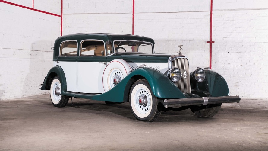 Lot 61 - 1938 Panhard Panoramique X73 Berline Parisienne