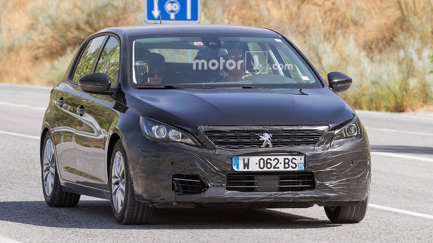 Refreshed Peugeot 308 spied testing with wagon body