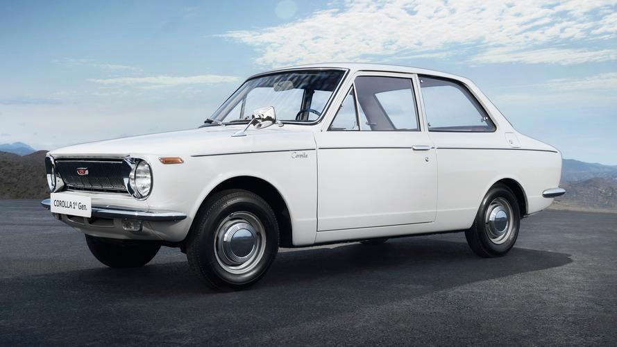 Toyota Corolla, 50 yıllık tarihiyle dünyanın en çok satan otomobili