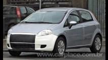 Fiat Punto vai mudar na Europa - Modelo camuflado é flagrado na Itália
