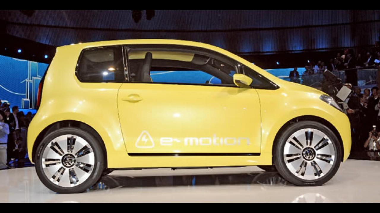 Salão de Frankfurt: O elétrico Volkswagen E-Up! tem autonomia de 130 km