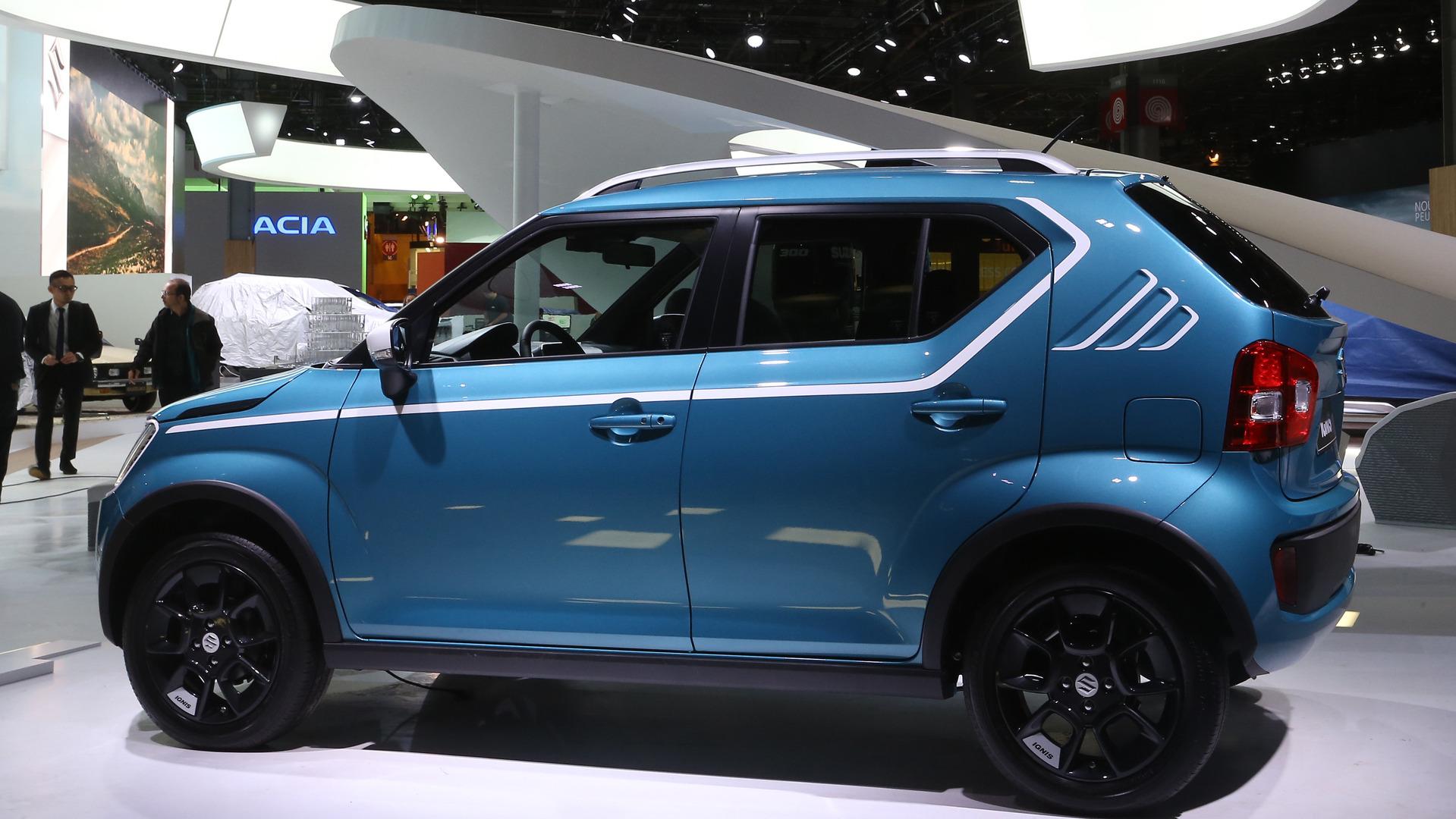 Suzuki Ignis Is An Adorable Little Crossover In Paris
