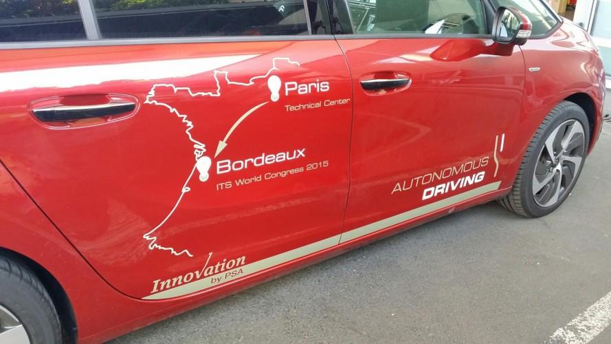 Fransız Yapımı Sürücüsüz Otomobil İlk Sürüşünü Başarıyla Tamamladı