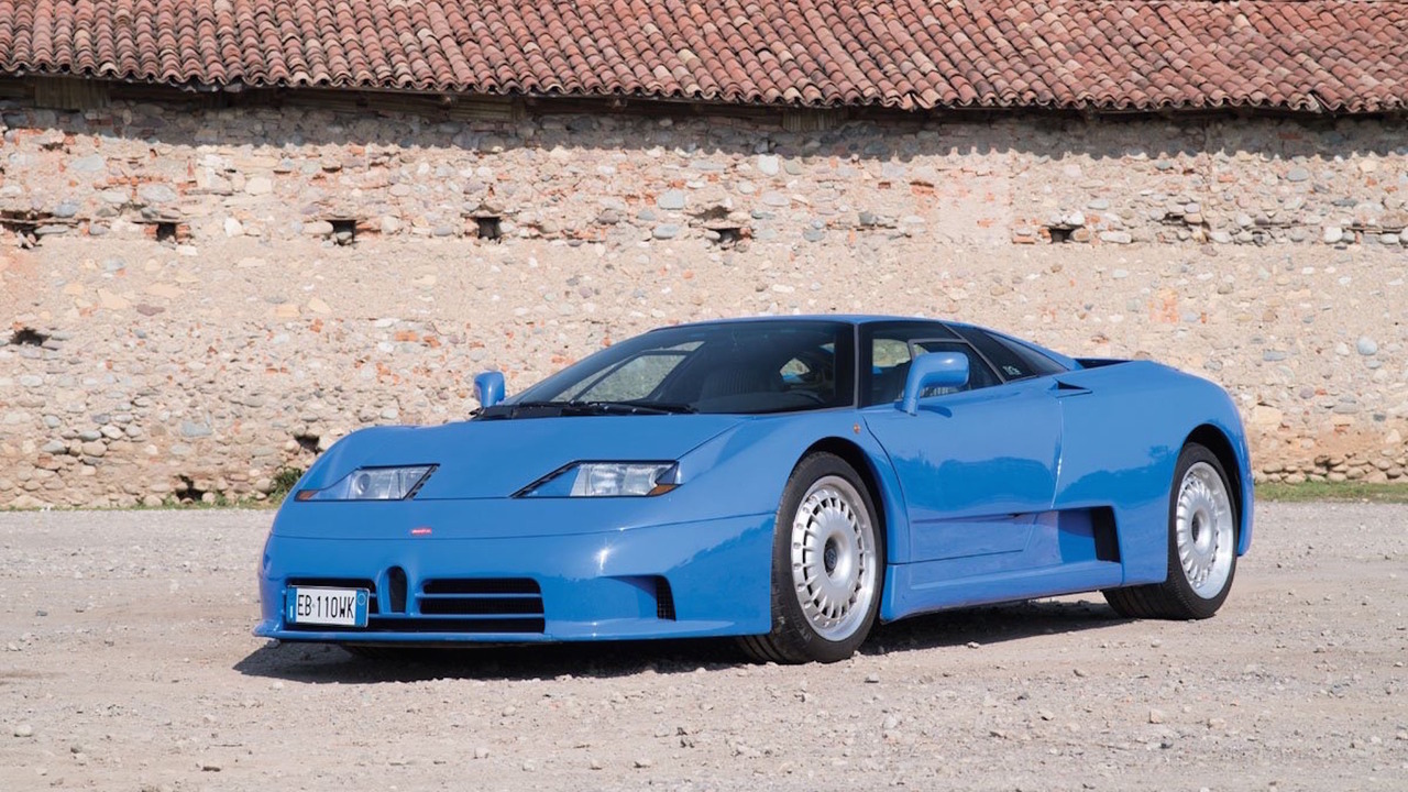 1994 Bugatti EB110 GT Müzayede