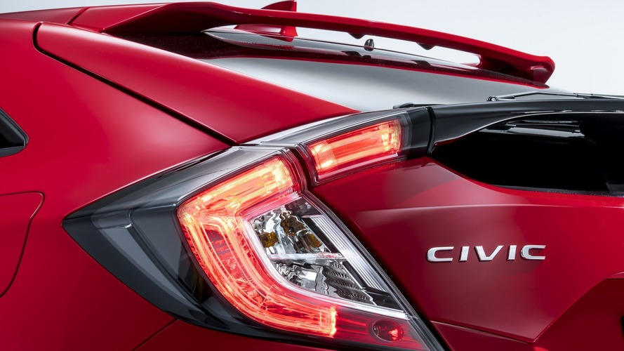 2017 Honda Civic Hatchback in Euro guise teased