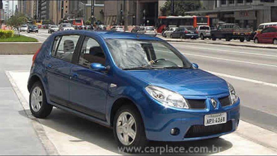 Renault divulga preços dos pacotes de opcionais do novo hatch Sandero