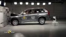 Volvo XC90 Euro NCAP Testine Katıldı, Bilin Bakalım Kaç Puan Aldı?