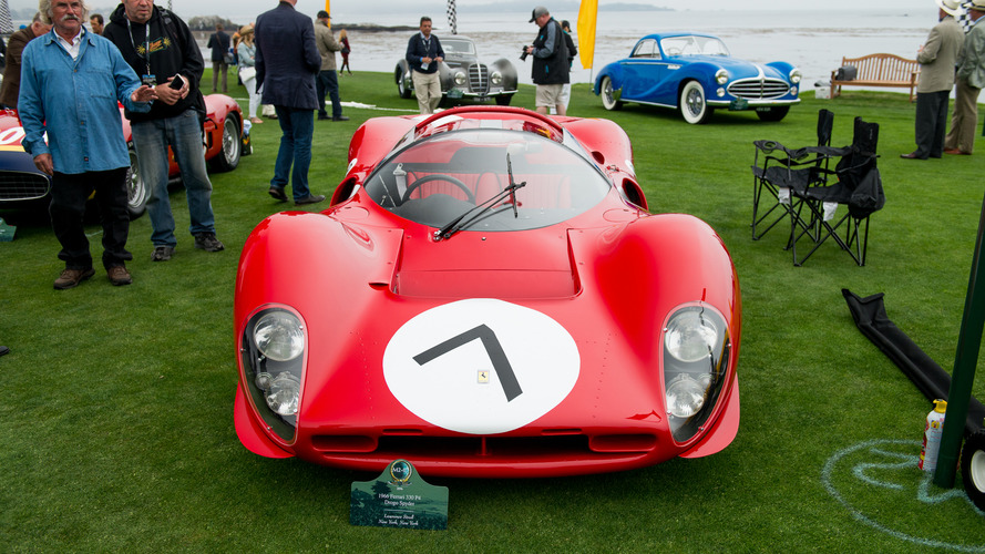 VIDÉO - Les 70 ans de Ferrari à Pebble Beach