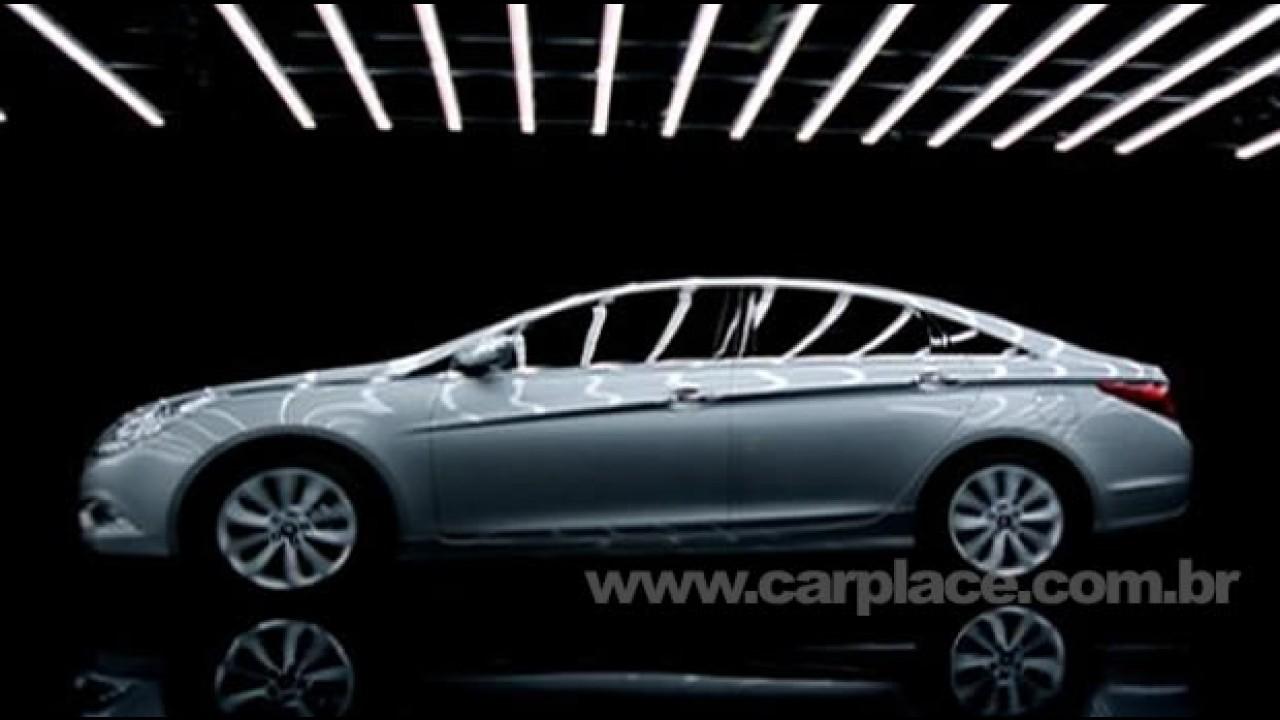 Novo Hyundai Sonata 2011 - Vazam primeiras fotos da nova geração do sedan
