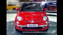 Salão do Automóvel 2008 - Fiat mostra o pequeno 500 Sport - Possível brasileiro?