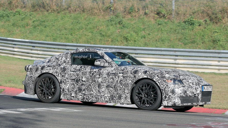2018 Toyota Supra shows off its skills on the Nurburgring