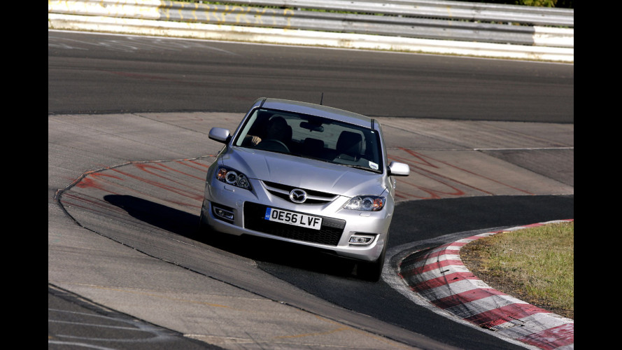 "La Mazda3 MPS sul ""Ring"""