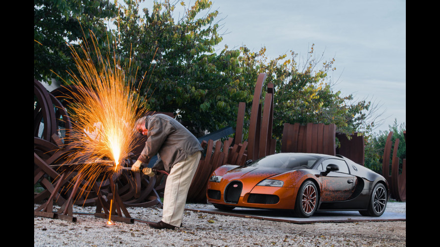 """Bugatti Grand Sport """"Bernar Venet"""""""