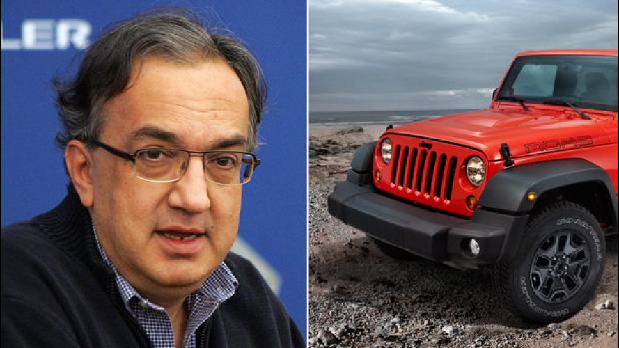 "Marchionne a Romney: ""Jeep resta in America"""