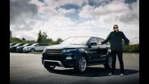 Le Range Rover Evoque di Sergio Cerruti