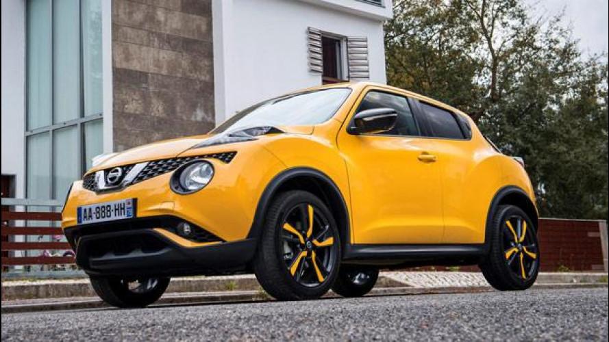 Nissan Juke restyling, prezzo da 16.650 euro