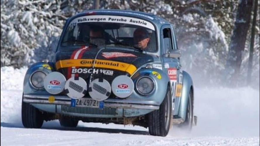 Continental al Monte-Carlo storico con i suoi pneumatici invernali