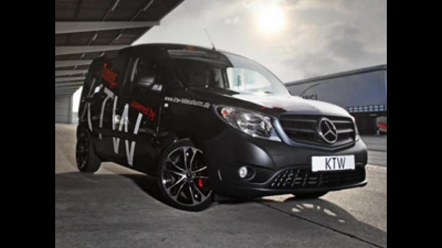 Mercedes Citan: più sportivo con KTW