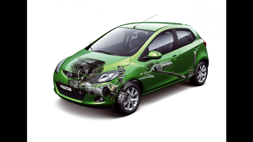 """La """"strategia del grammo"""" per la Mazda2"""