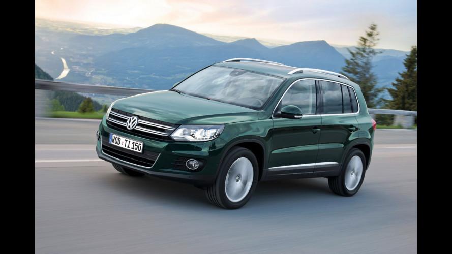 Volkswagen Tiguan, restyling in arrivo