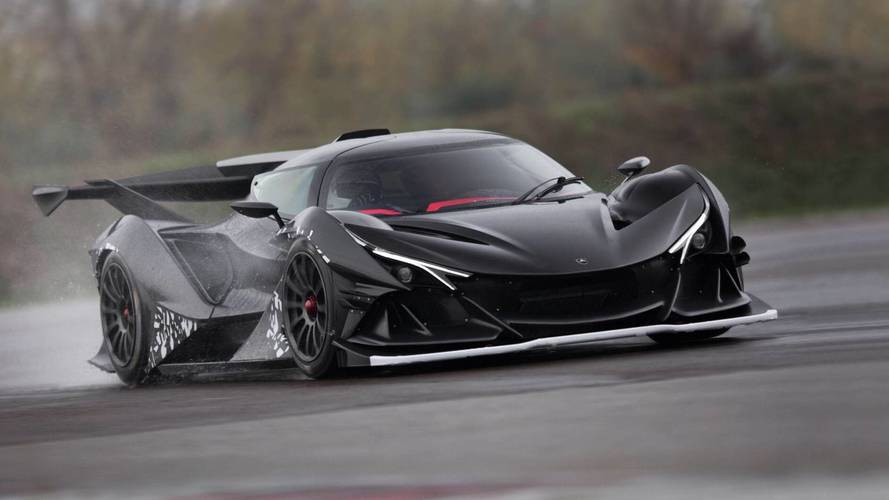 Apollo Intensa Emozione captured on the move again