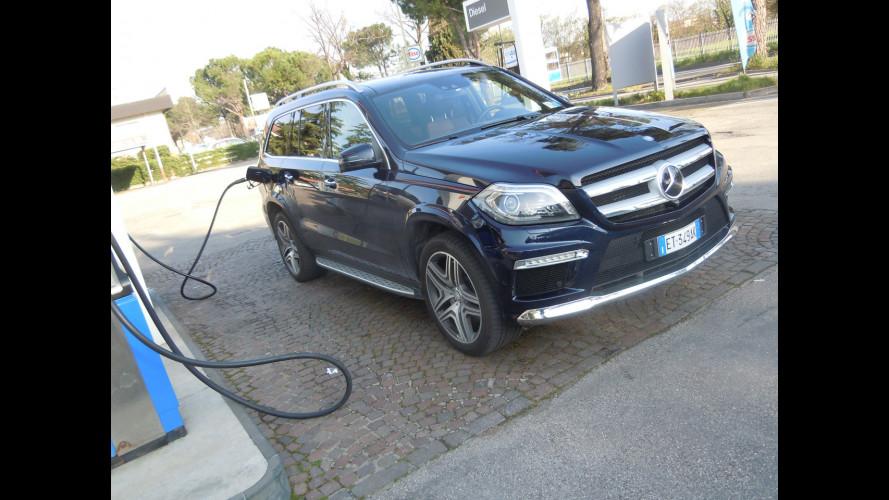 """Mercedes GL 350 BlueTEC, la prova dei consumi """"reali"""""""
