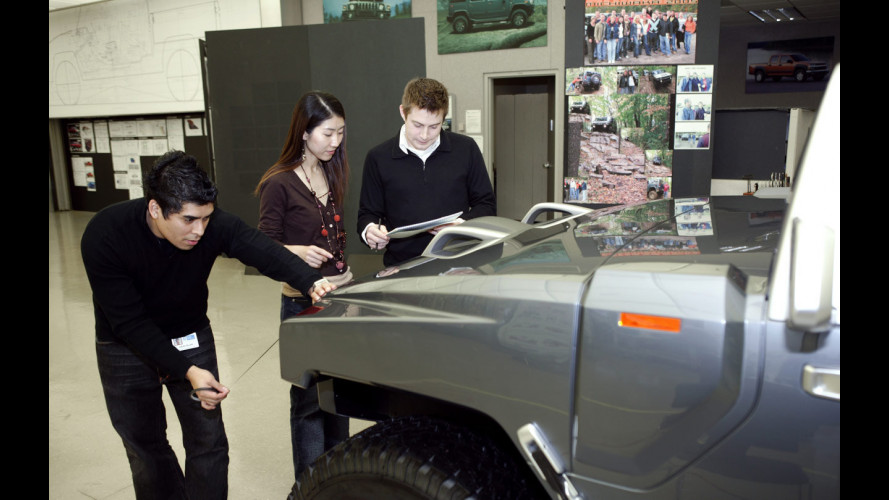 Hummer HX Concept verso Detroit