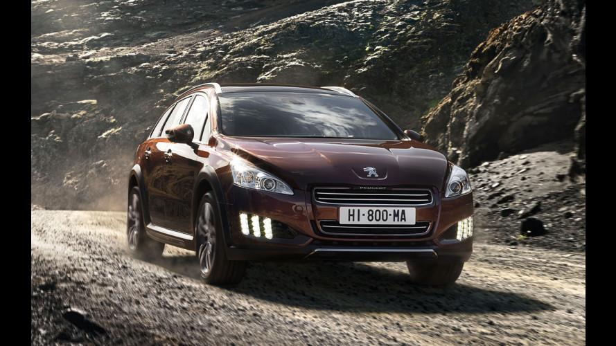 Peugeot al 4° posto in Europa