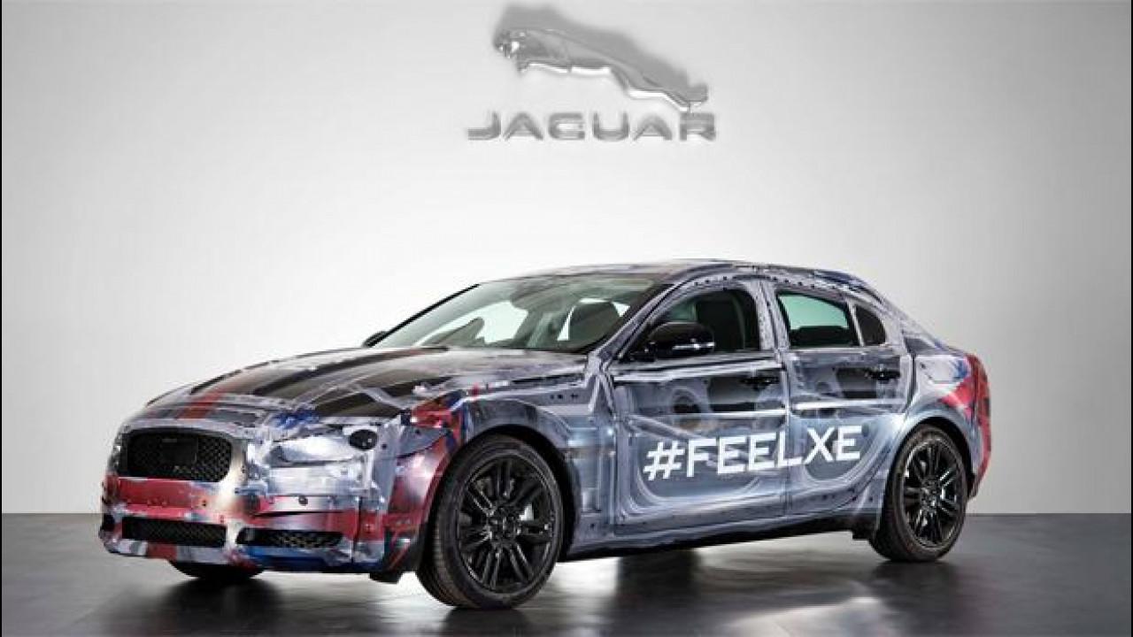 [Copertina] - Jaguar XE, alluminio inglese contro reputazione tedesca e sogno italiano