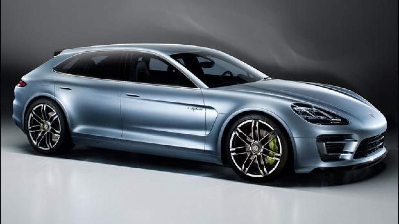 [Copertina] - Porsche Panamera Sport Turismo Concept