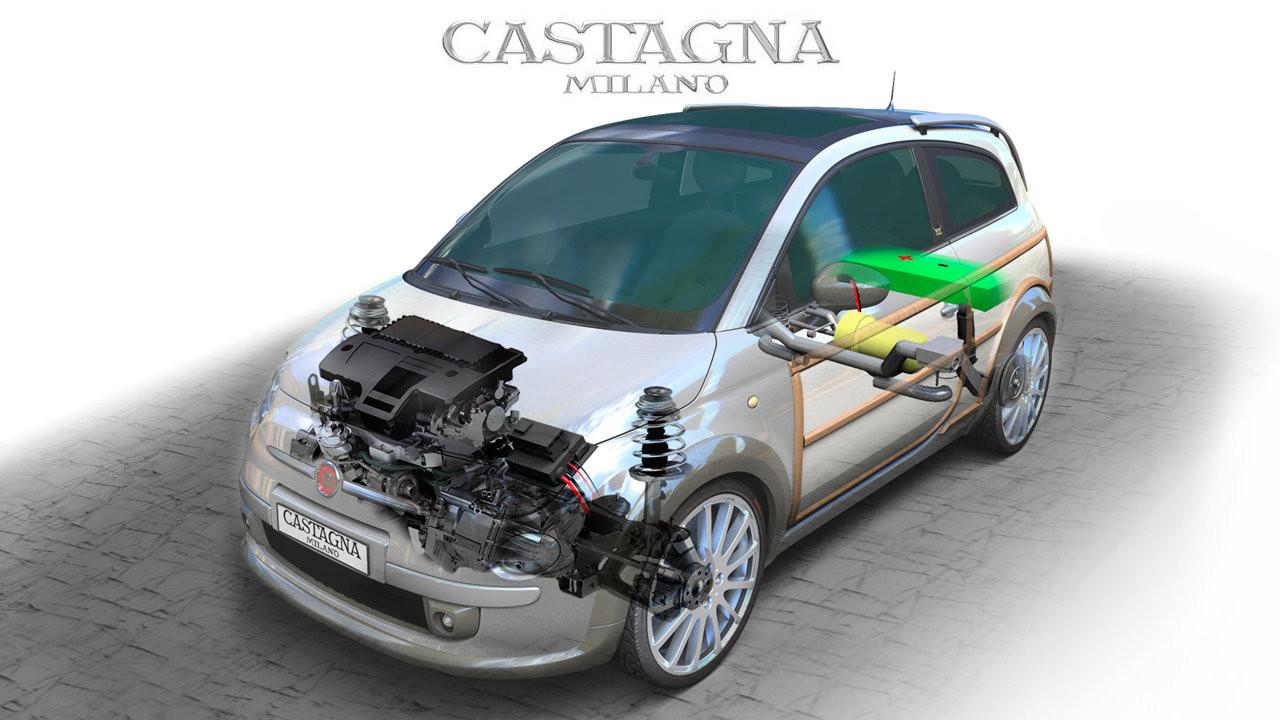 Fiat 500 Wagon by Castagna