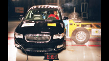 Crash Test nuova Skoda Superb
