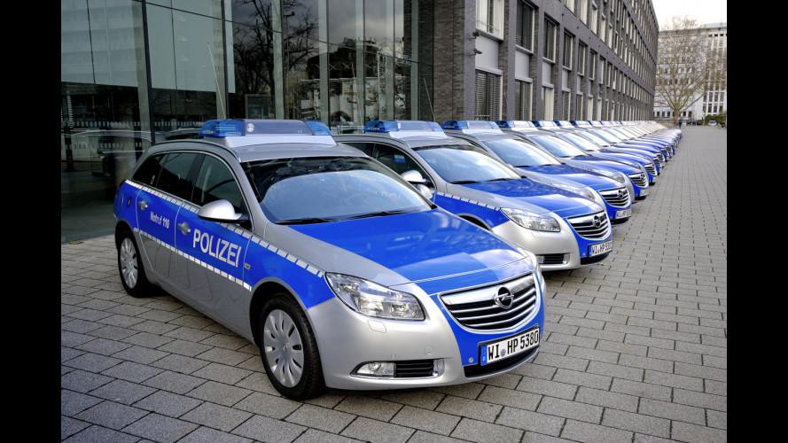 Opel Insignia Sports Tourer per la Polizia tedesca