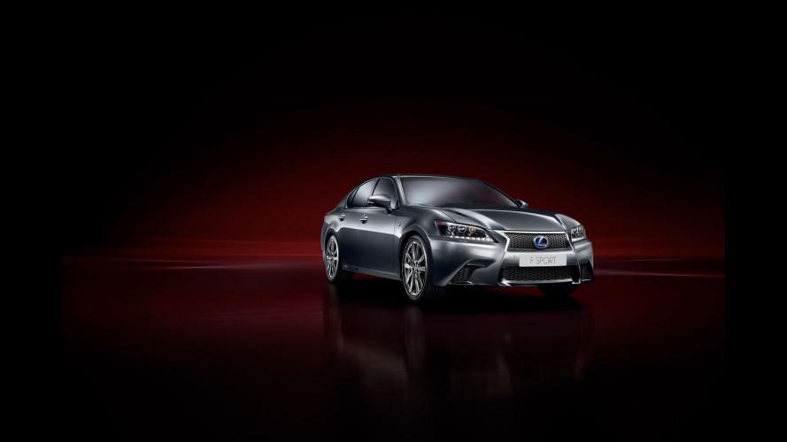 Nuova Lexus GS F Sport