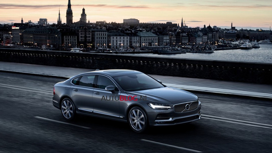 New Volvo S90 photos leaked before official Gothenburg unveiling [Photos Updated]