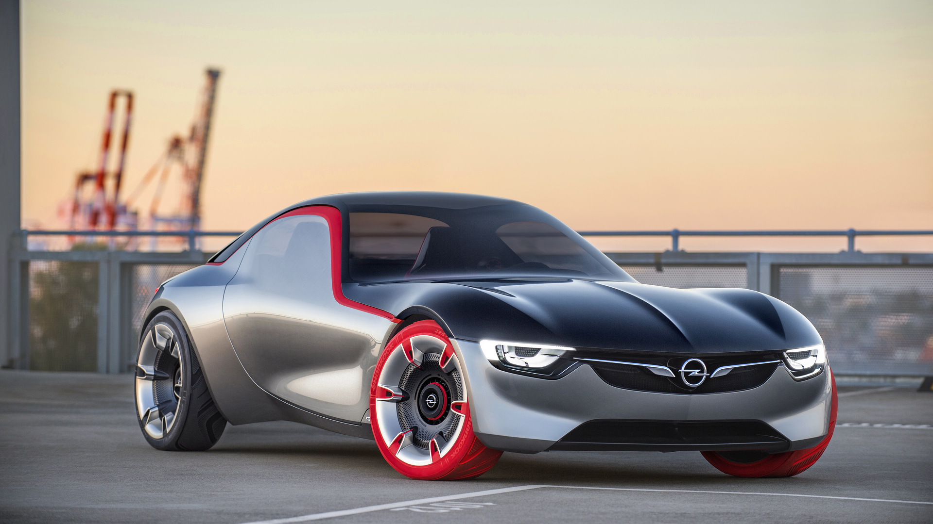 Opel Gt Concept Is 145 Hp Mid Engine Rwd Baby Sports Car