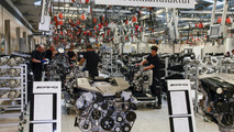 Mercedes-Benz V12 6.0-liter bi-turbo engine production