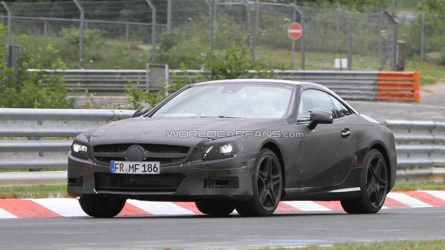 2012 Mercedes-Benz SL63 AMG spied with new details