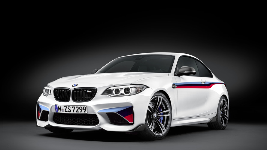 BMW M2 gains M Performance parts