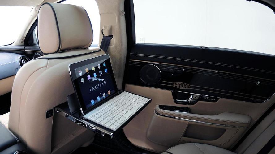 Jaguar XJ gets the iBusiness treatment by Startech