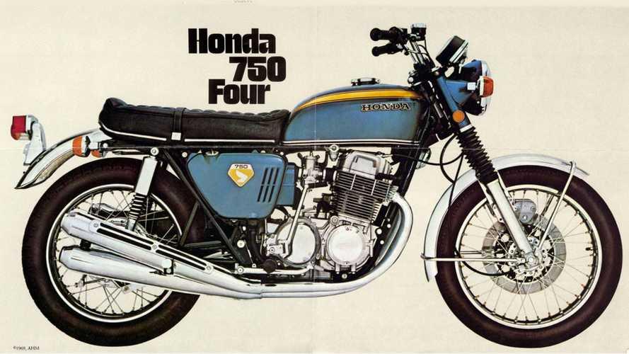 Honda CB 750 Four: i 50 anni del mito