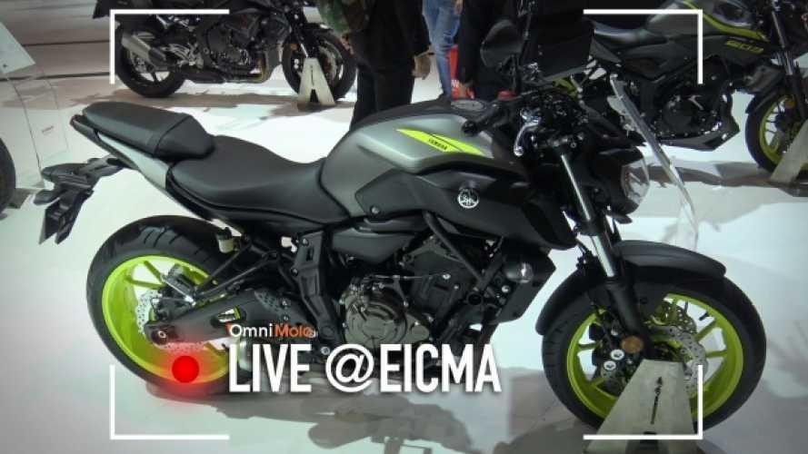 Yamaha MT-07 2018, migliora per piacere ancora [VIDEO]