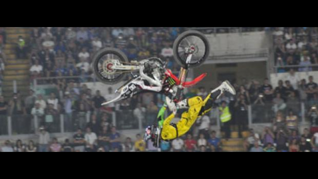 Red Bull X-Fighters 2011 Roma: Vince Nate Adams