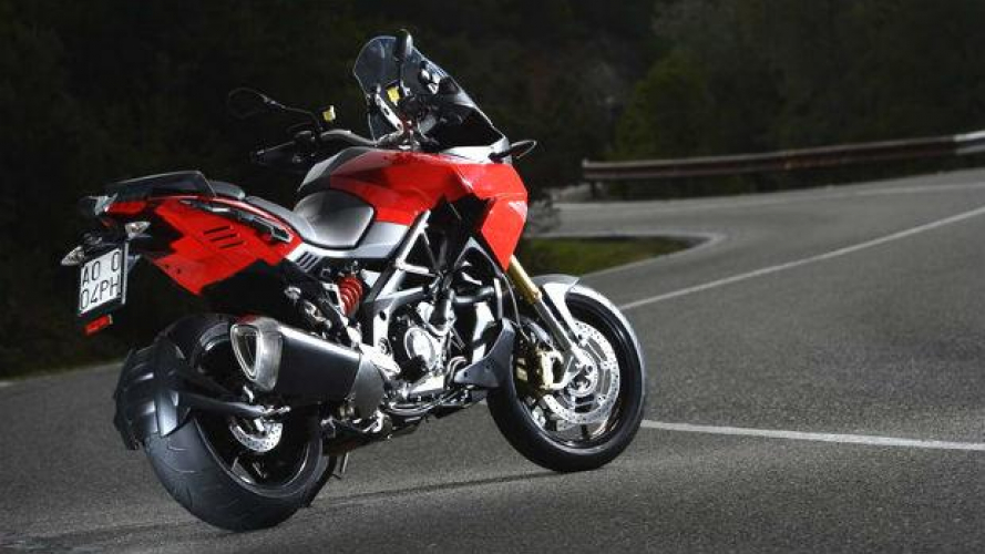 Aprilia Caponord 1200 Travel Pack in test ride