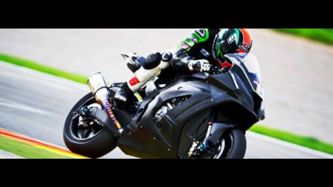 Kawasaki WSBK 2012: Sykes da record a Valencia